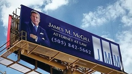 "Image: ""Better Call Saul"" billboard in Albuquerque, NM"