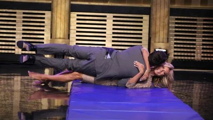 Image: Jimmy Fallon and Heidi Klum
