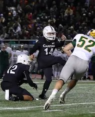 Capital Christian football, Casey Taylor