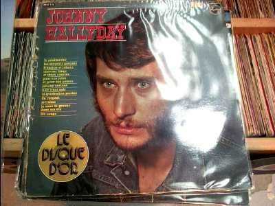 DISQUE 33T HALLYDAY Doccasion