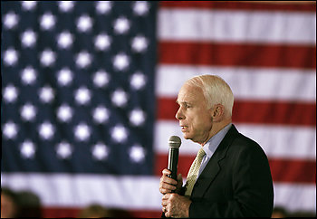 Sen. John McCain, the presumptive GOP nominee, was born on a U.S. military base in the Panama Canal Zone, which was then under U.S. jurisdiction.