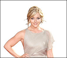 Jane Krakowski, shown at last month's Emmys, had vocal problems Saturday at the Terrace Theater.