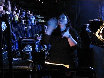 Sign interpretation at Lady Gaga's Verizon Center concert last month.