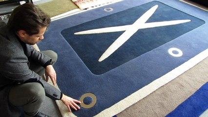 la manufacture de tapis de bourgogne l insertion dans un tapis sur orange videos