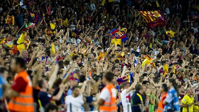 El Barça me ayudó a coger soltura para hablar en catalán
