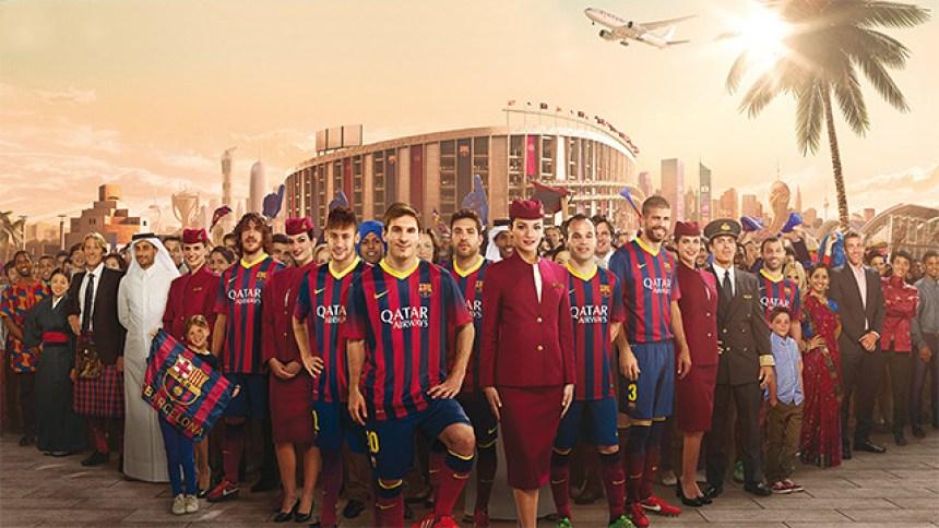 fc barcelona qatar airways