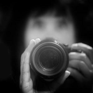 Självporträtt i en spegel