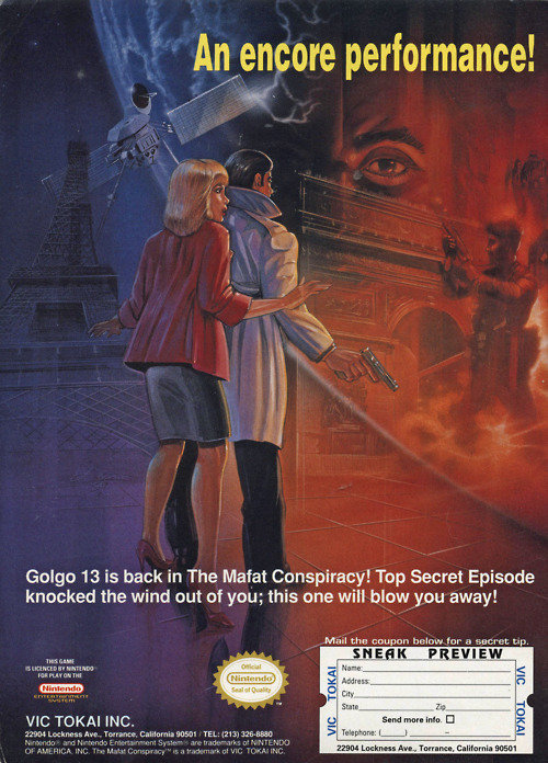 I\u0026#39;ll just stay back here, right behind you. | Vintage Video Game Ads For Girls and For Boys Who
