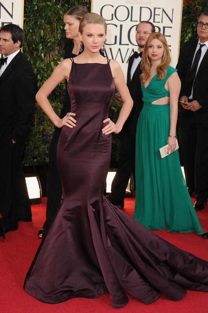 Taylor Swift in Donna Karan Atelier at the 2013 Golden Globe Awards