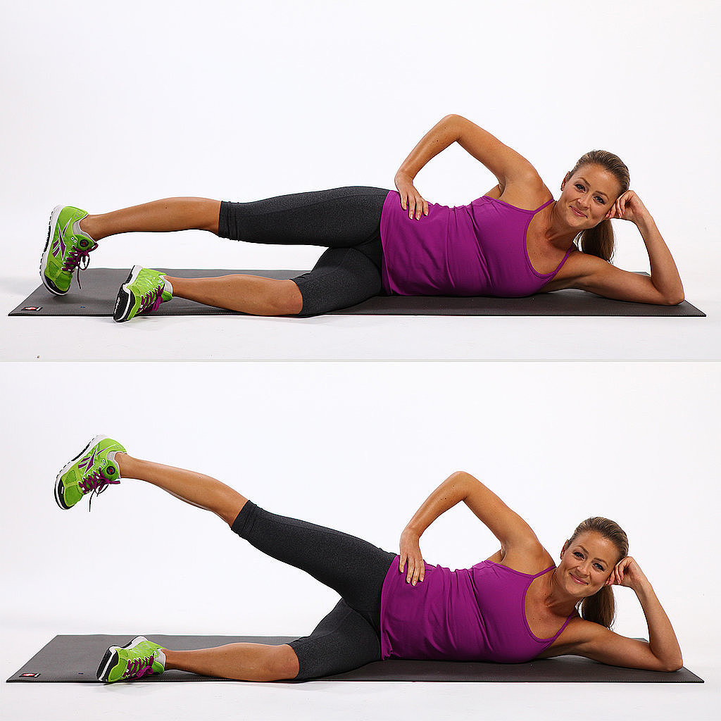 Image result for lateral lying hip abduction