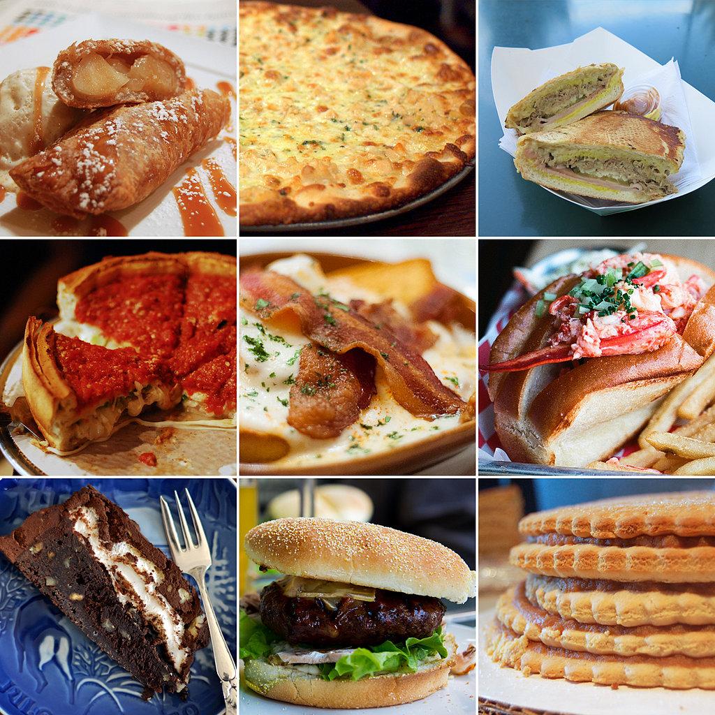 Listphoria 30 Uniquely American Foods