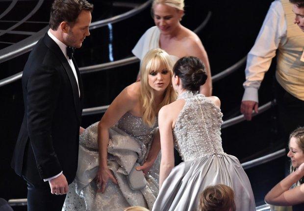 Chris Pratt and Anna Faris Said Hi to Felicity Jones