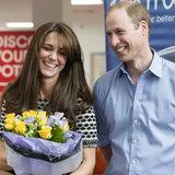 """Principe William Says principe George e principessa Charlotte è """"delizioso"""""""