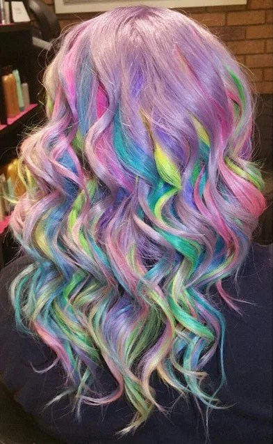 Pastel Surprise 14 Sand Art Hair Color Looks That Will
