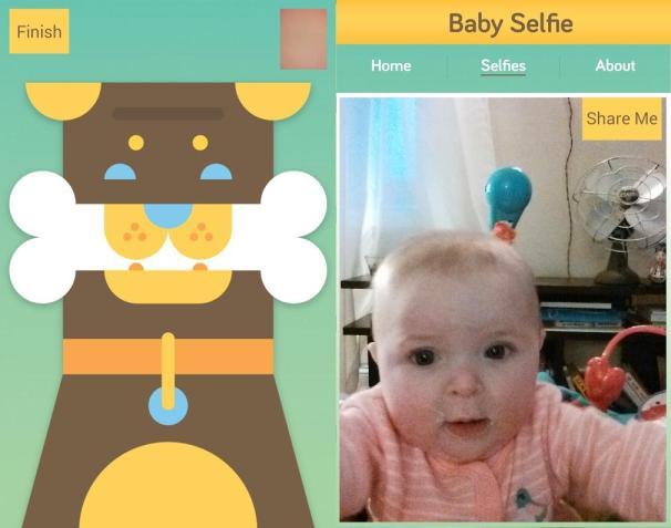 Baby selfie : les bébés ont aussi droit à leurs selfies
