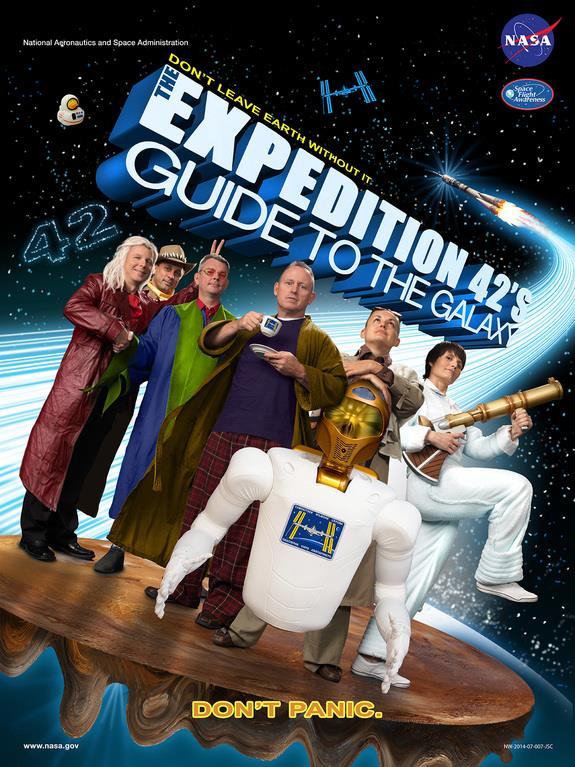 Image: Expedition 42 poster