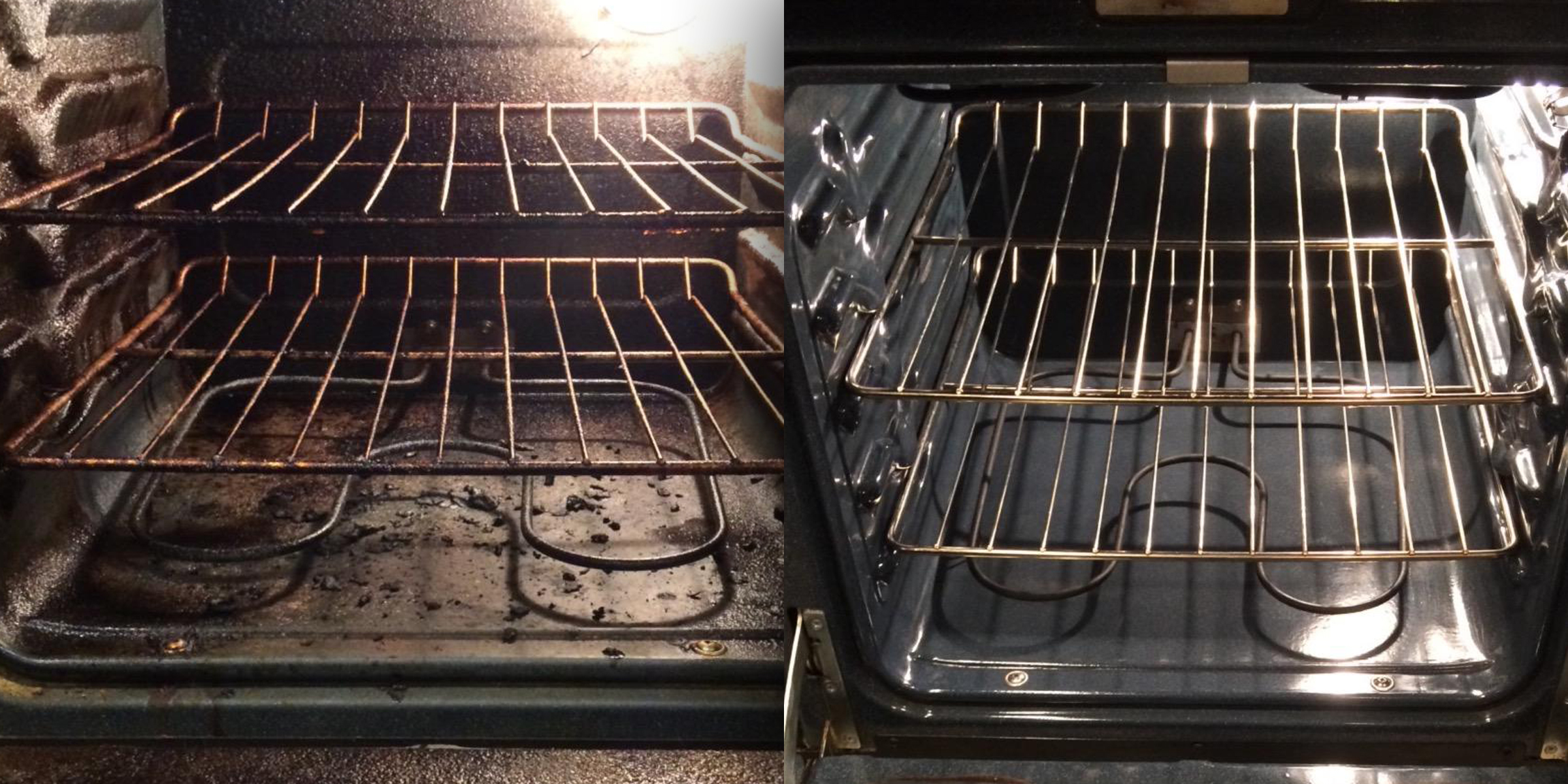 this foam cleaner will make your oven