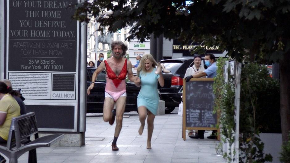 Rudy Giuliani caught in compromising position in new 'Borat' film