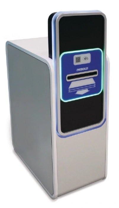Image: Diebold's screenless Irving ATM concept