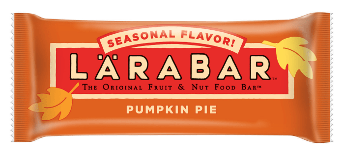 Image result for pumpkin spice larabar