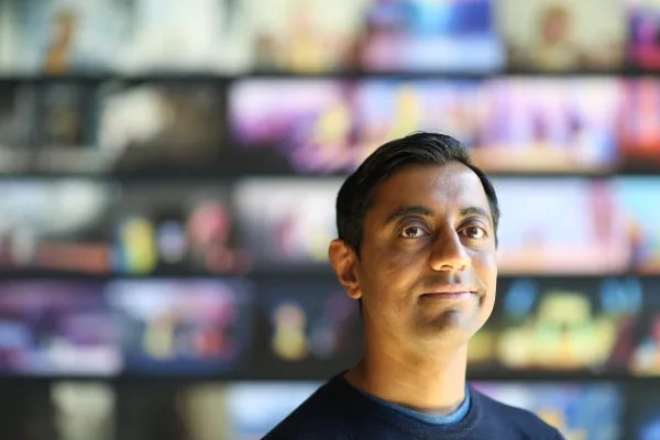 "Sanjay Patel, director of new Pixar short ""Sanjay's Super Team""."