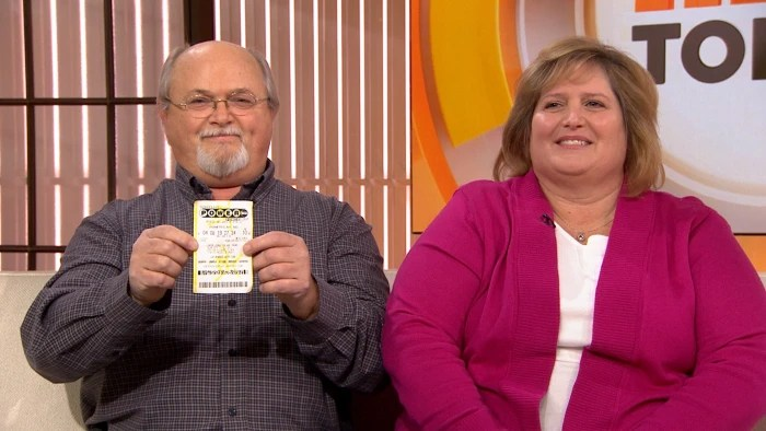 Tennessee Powerball couple