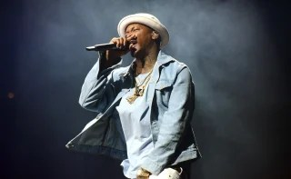 Image: Rapper YG performs onstage at Staples Center
