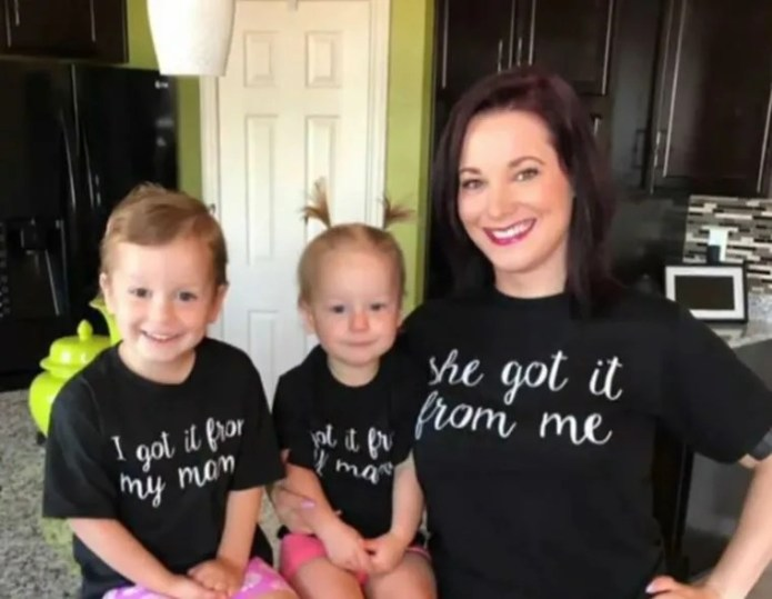 Bild: Shanann Watts und ihre Töchter