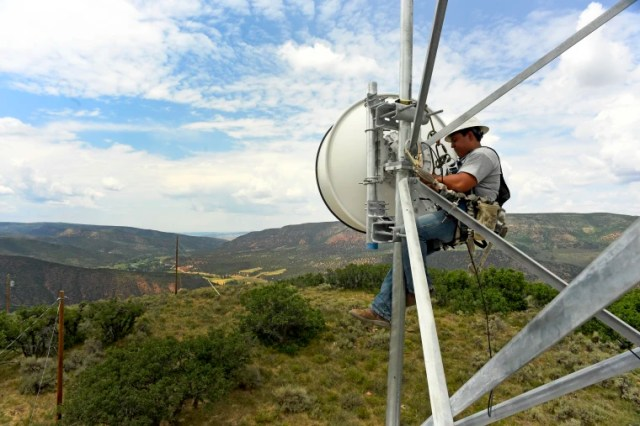 Broadband in rural areas in Meeker, Colorado
