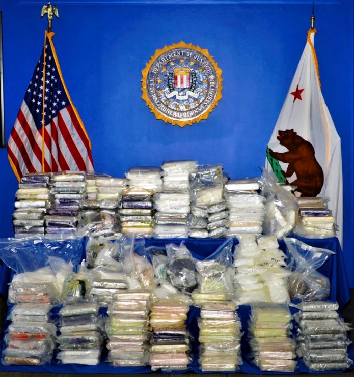 Image: Federal Drug Bust