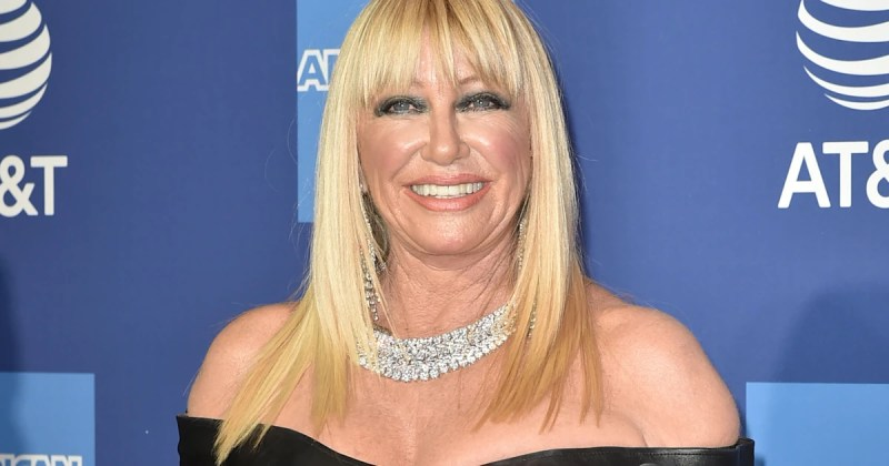 Suzanne Somers celebrates her 73rd birthday - in her birthday suit!