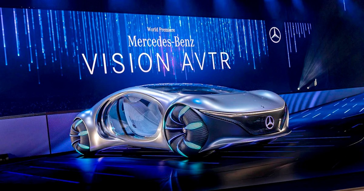 James Cameron S Avatar Comes To Life In Mercedes Sleek