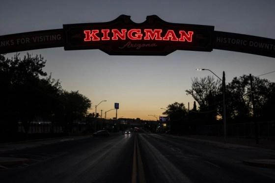 Image: Kingman sign