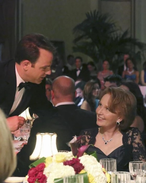 "Paul Adelstein and Kate Burton on ""Scandal."""
