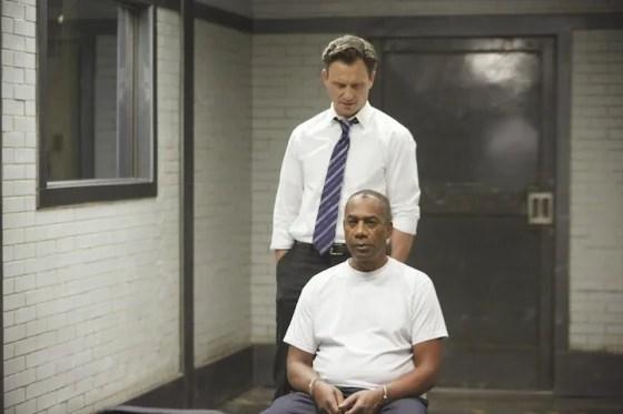 """Joe Morton and Tony Goldwyn in """"Scandal."""""""