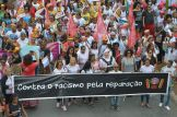 Brasília - Marcha das Mulheres Negras Contra o Racismo, a Violência e pelo Bem Viver em Brasília, reúne mulheres de todos os estados e regiões do Brasil (Marcello Casal Jr/Agência Brasil)