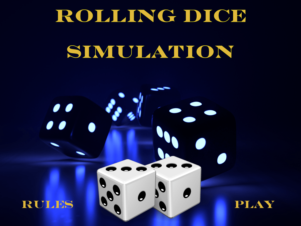 Math Simulation Probability Rolling Two Dice