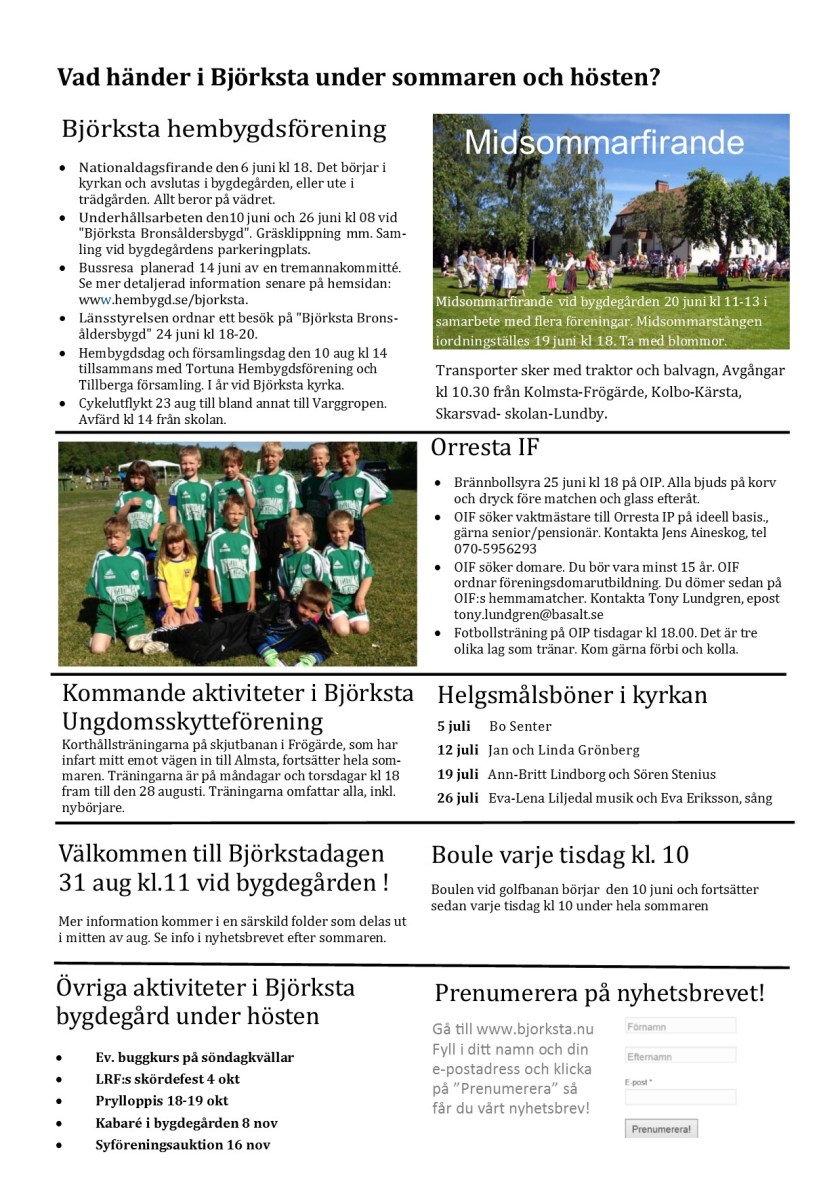 Infoblad 2 maj 20144