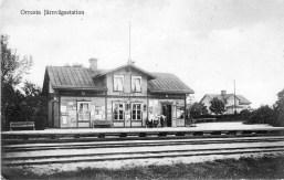 Orresta järnvägsstation.1913