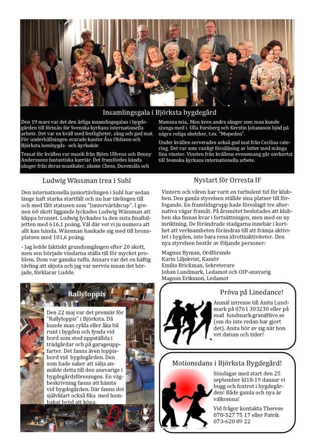 Infoblad 3 maj 2016
