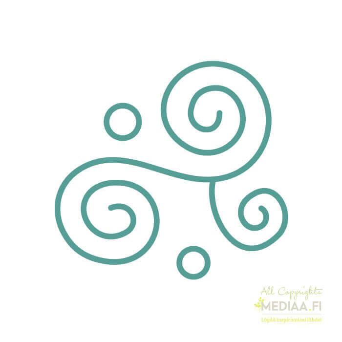 Logo: Sonaatti - Suunnittelija Maija Luomala