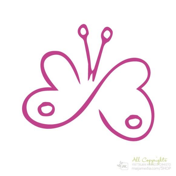 Logo: Perhonen - Suunnittelija Maija Luomala