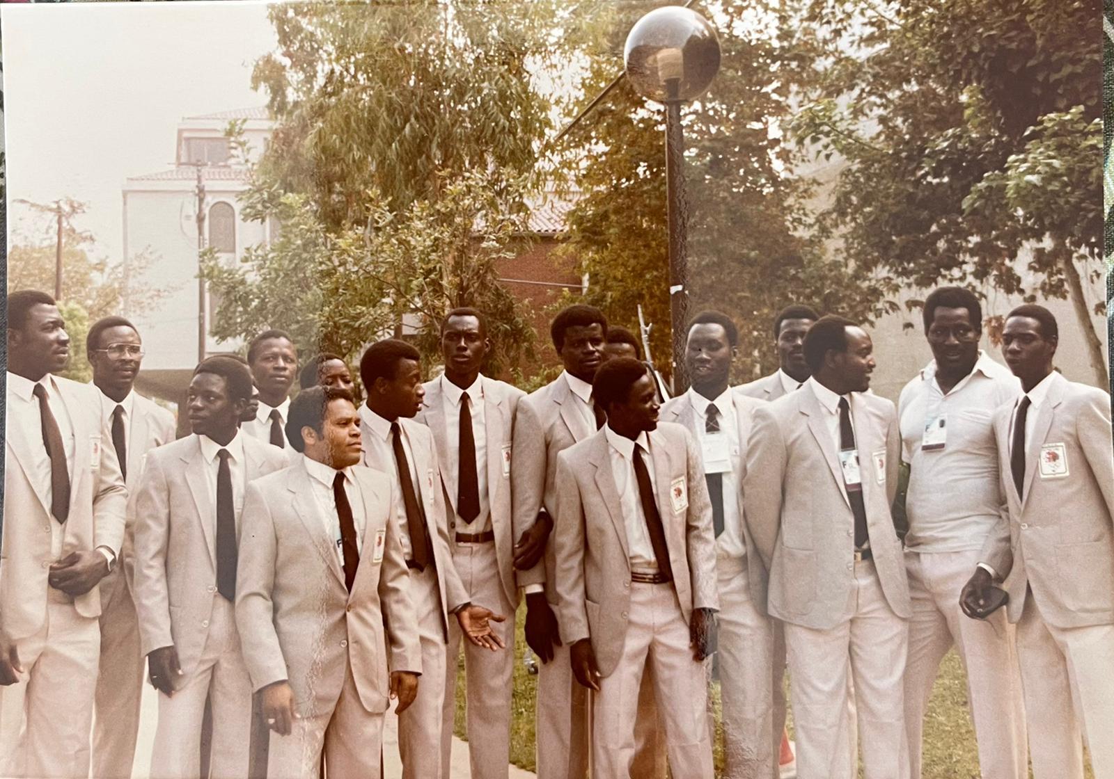 LOS ANGELES 1984 : Amadou Dia Bâ 5e en finale du 400 m Haies