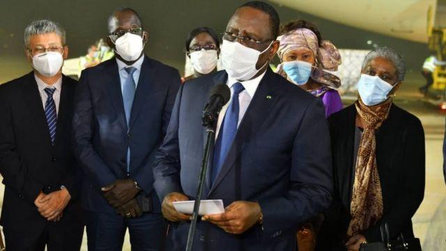 Sénégal : le comité suivi force covid-19 a présenté son rapport au président
