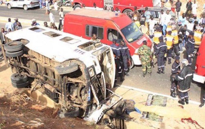 Kaolack : 111 personnes ont péri dans 1.356 accidents de la circulation entre janvier et août