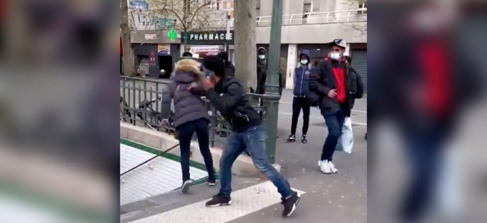 France : l'homme qui a poussé une femme dans les escaliers du métro expulsé du pays