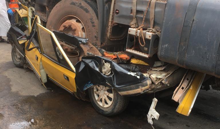 Kaolack : un  accident de la route fait 4 morts et un blessé grave