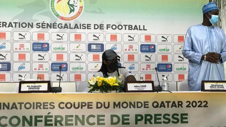 Eliminatoires Coupe du monde 2022 : Aliou Cissé publie une liste de 25 joueurs contre le Togo
