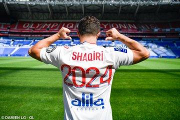 Football -Ligue1: L'Olympique Lyonnais annonce le recrutement du Suisse Xherdan Shaqiri