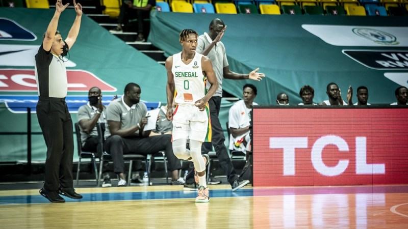 Afrobasket 2021: Très performant ce soir, le jeune Brancou Badio en taille patron